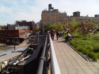 Highline, New York